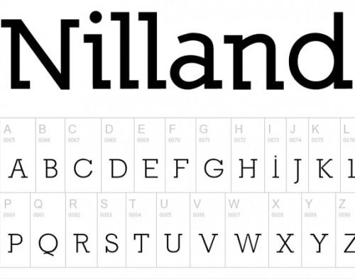 51_Nilland Typeface