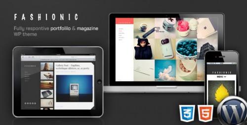 5_Fashionic - Portfolio, Magazine WordPress Theme