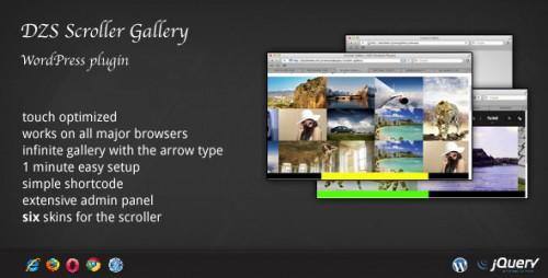 7_DZS Scroller Gallery - WordPress Plugin