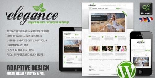 7_Elegance - Clean and Modern Wordpress Theme