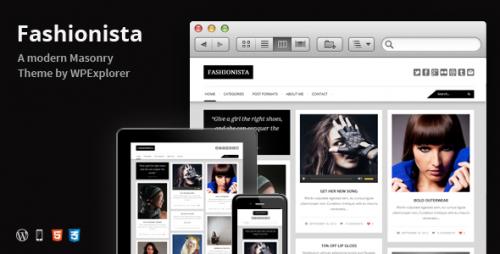 8_Fashionista - Responsive WordPress Blog Theme