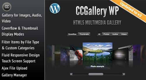 9_CCGallery WP - Multimedia Gallery Wordpress Plugin