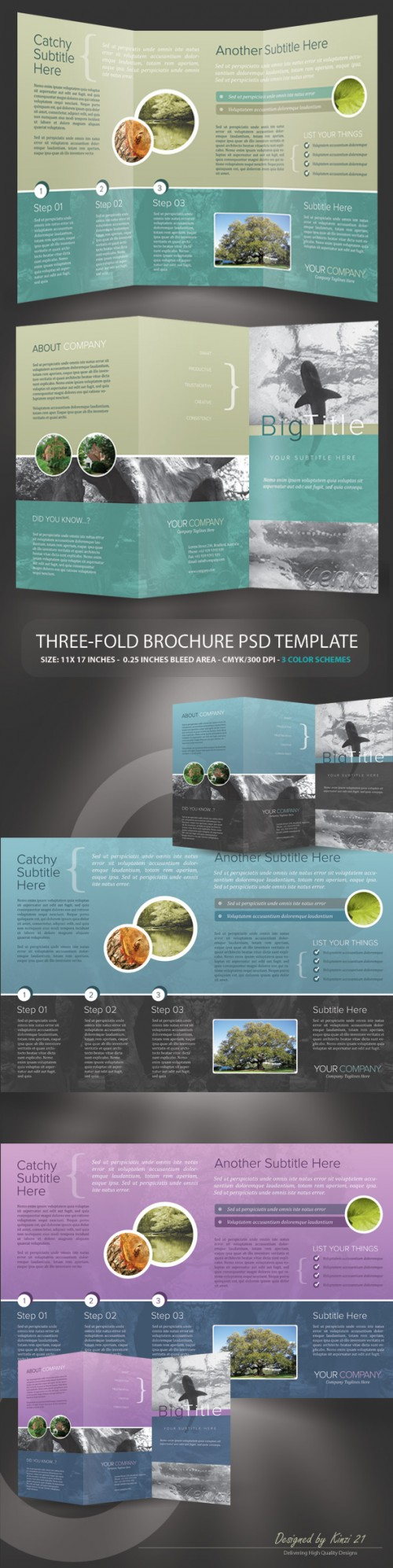 13_Corporate Trifold Brochure