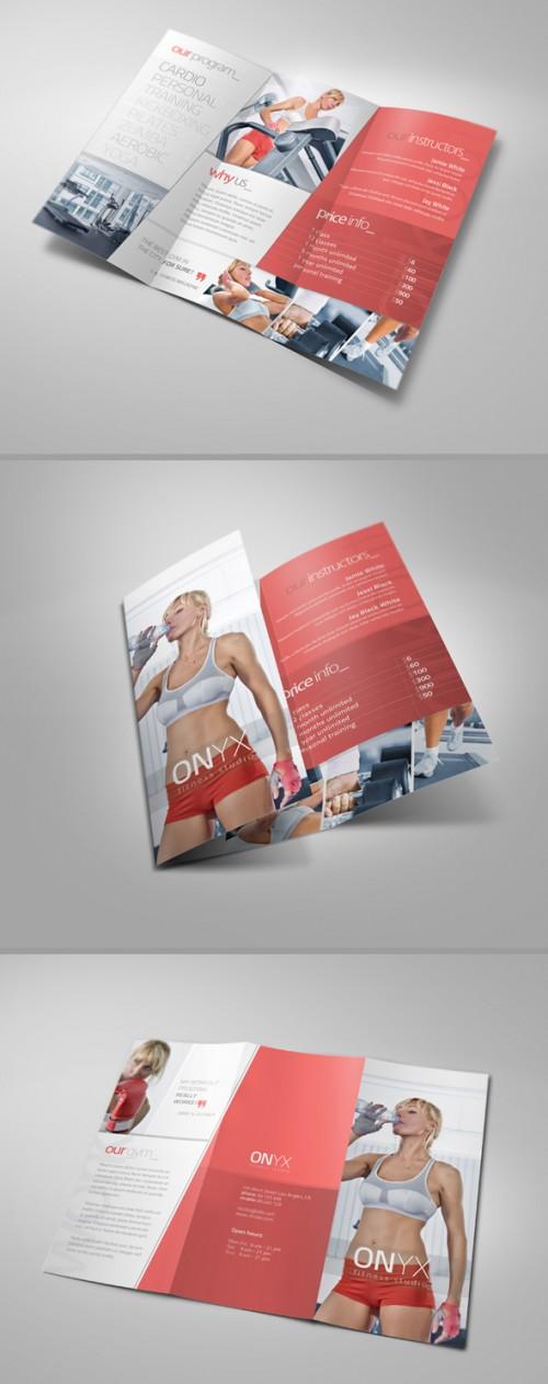 19_Fitness Tri Fold Brochure