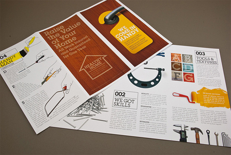 1_Home Maintenance Brochure with Wood Background