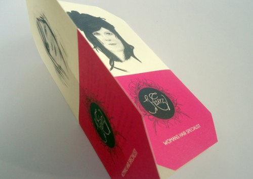 21_2 Colour Tri-Fold Brochure for a Hair Saloon - Hairz