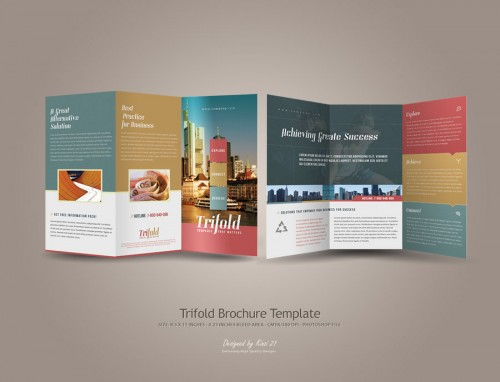31_Trifold Brochure Template