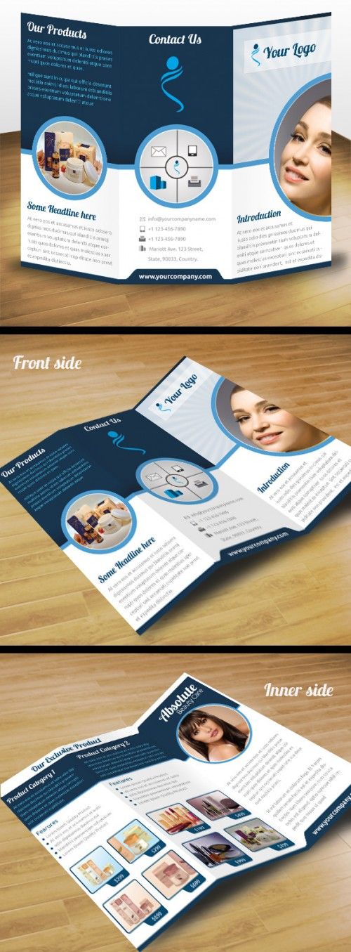 33_Business Product Tri Fold Brochure