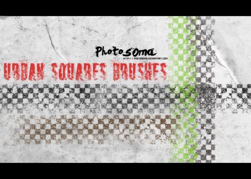 3_Urban Squares Brushes