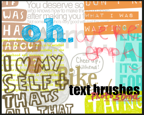 46_Text Brushes