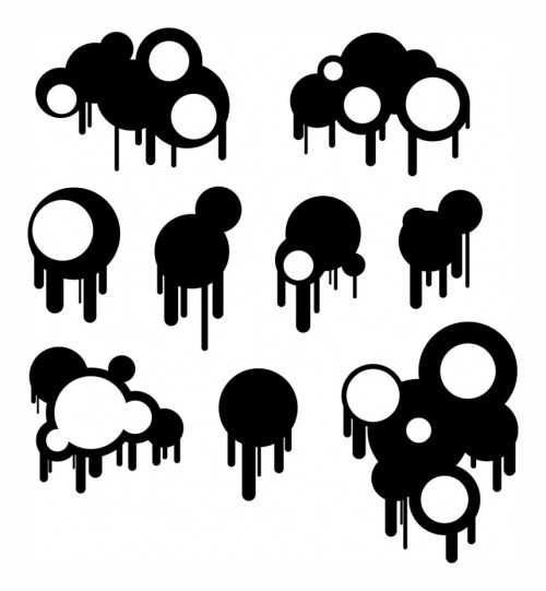 49_Circles and Drips – Brushes