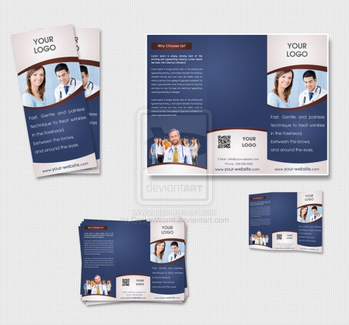 Tri Fold Brochure Design Ideas WebDesignerDropsTri