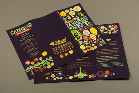 8_Graphic Farmers Market Brochure