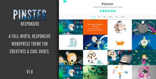 13_Pinster - Full Width Portfolio WP Theme