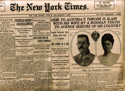 16_Headline June 1914