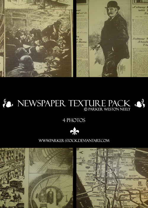 20_Newspaper Texture Pack