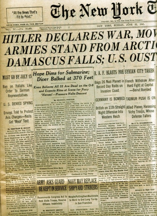 27_Headline June 1941