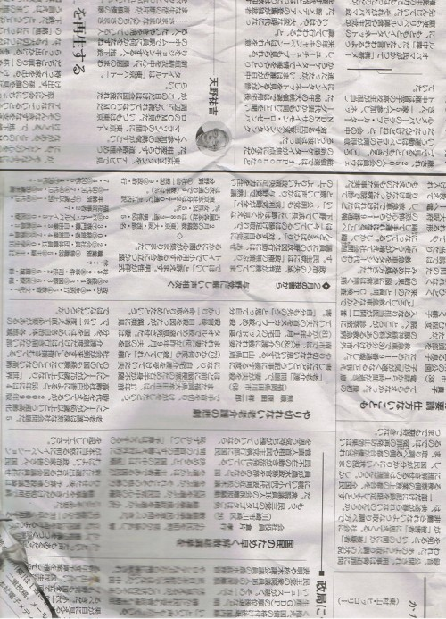 28_Japanese Newspaper
