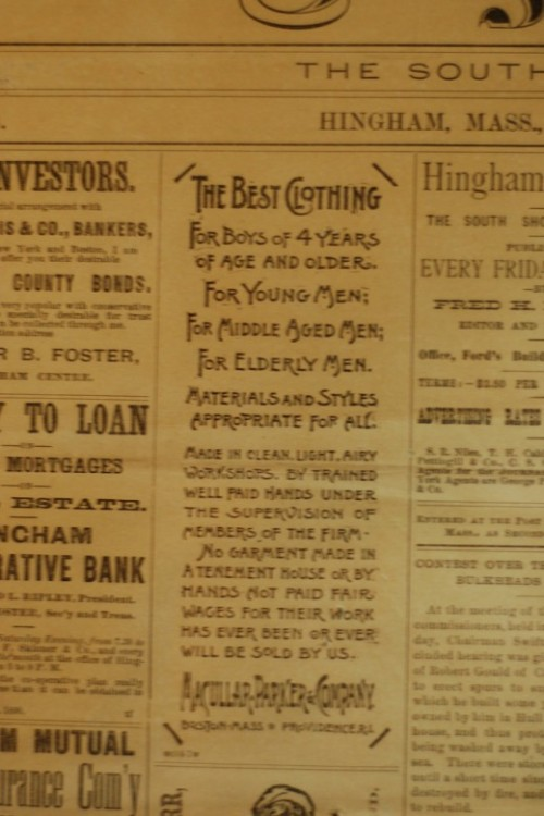 35_Century Old Hingham Newspape