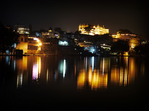 36_Udaipur City Palace, Long Exposure