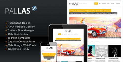 38_Pallas Creative Designer Portfolio Theme