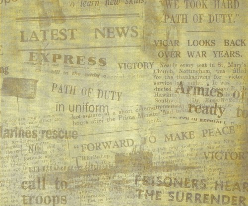 3_Old Newspaper Texture