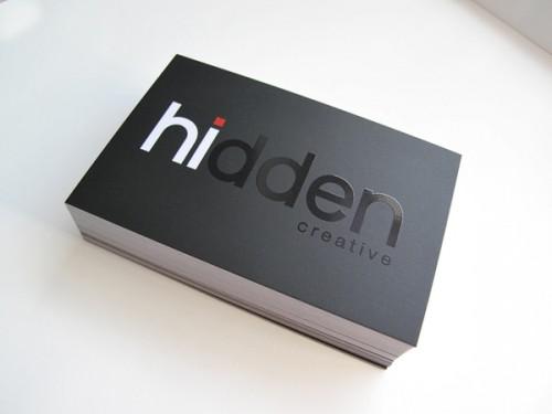 45_Hidden Creative Business Cards