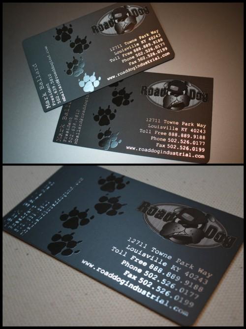 5_Road Dog Business Card Design