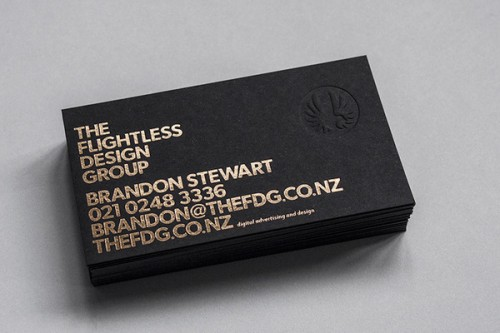 7_The Flightless Design Business Card