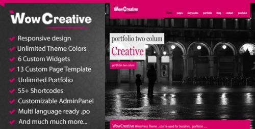 34_WowCreative - Responsive Portfolio Theme