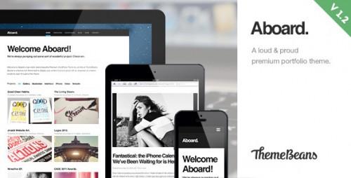 47_Aboard - Responsive Premium Portfolio Theme