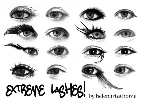16 Extreme Lashes for Free Download