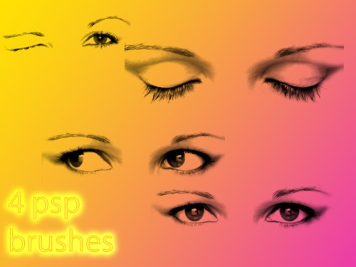 4 Free Eye Brushes for PS