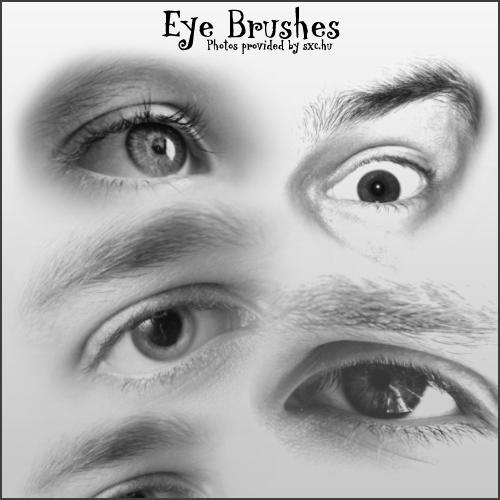 8 Amazing Eye Brushes - eye brushes for photoshop