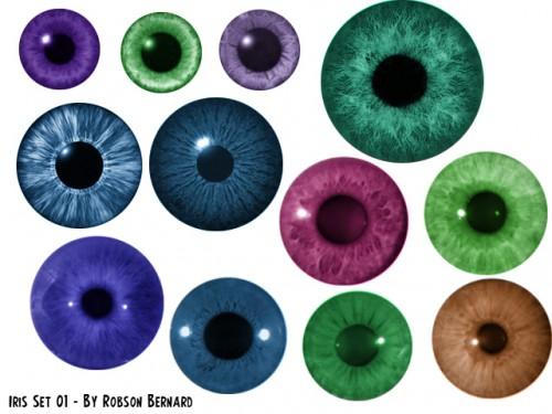 Cool Iris Brushes Set
