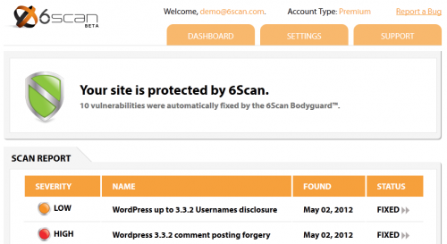 6Scan Security