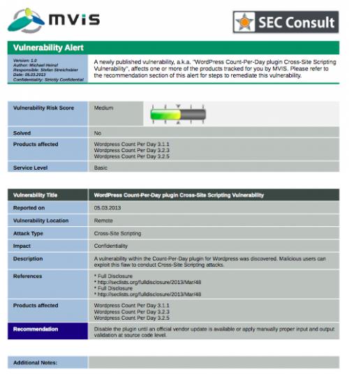 MVIS Security Center