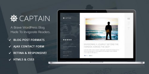 Captain - Brave & Invigorating WordPress Theme
