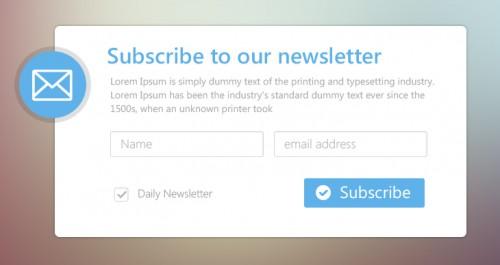 Minimal Email Newsletter