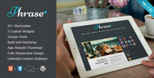 Phrase - Responsive WordPress Blog Theme