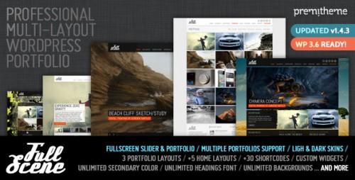 FullScene - Portfolio, Photography WP Theme