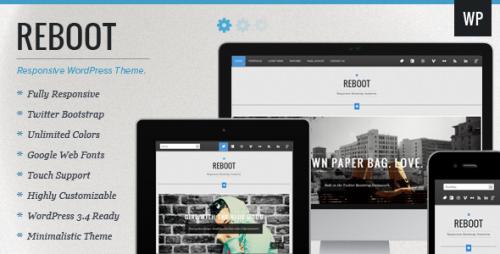 Reboot - Responsive Portfolio WordPress Theme