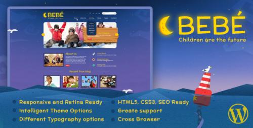 BeBe Responsive WordPress Theme