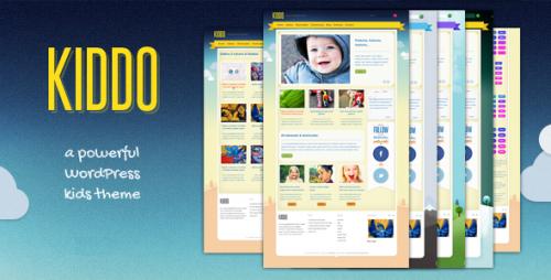Kiddo - A Powerful WordPress Kids Theme