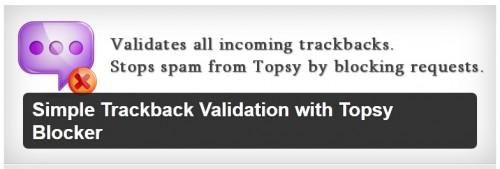 Simple Trackback Validation