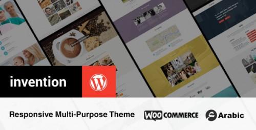 Invention Responsive Multi-Purpose WordPress Theme