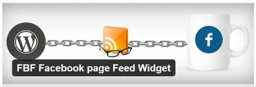 FBF Facebook Page Feed Widget