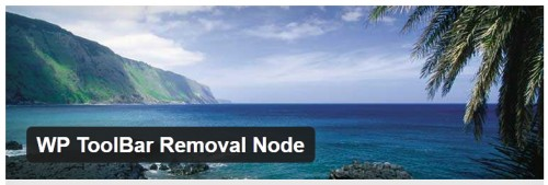 WP ToolBar Removal Node
