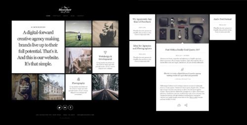 Bleecker – Responsive Retina-Ready WP Portfolio Theme