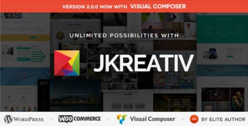 Jkreativ - Multilayer Parallax MultiPurpose Theme
